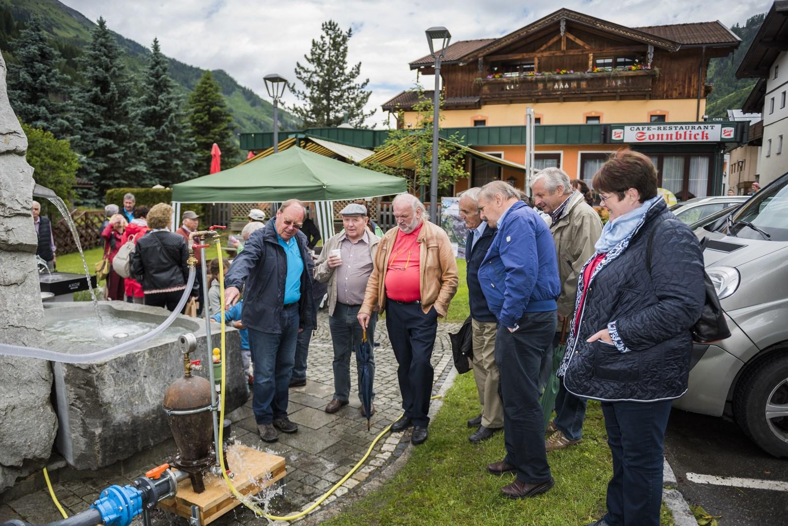 Trink\'WASSERTAG 2016_Wassergenossenschaft Rauris