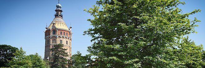 Wasserturm Ostansicht