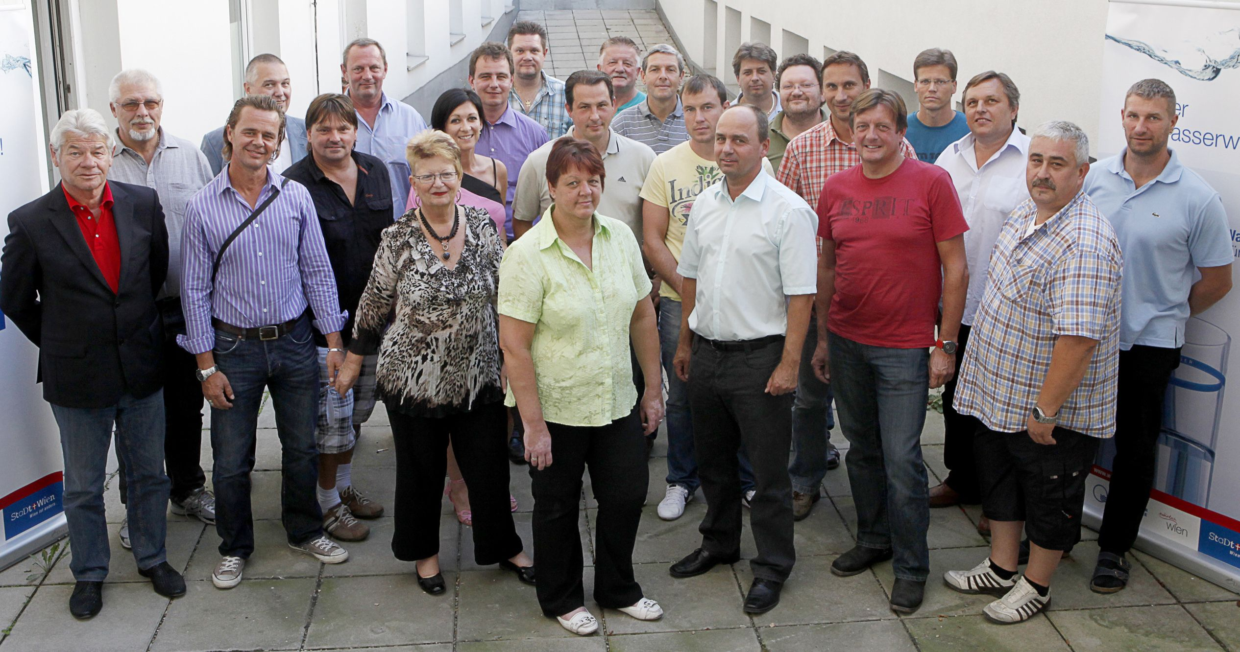 Personalvertreterinnen und Personalvertreter von Wiener Wasser